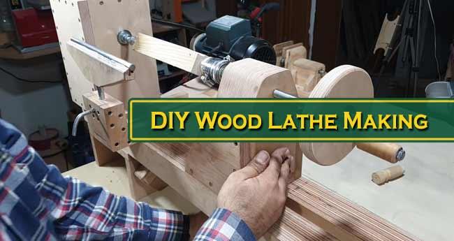 DIY Wood Lathe Making