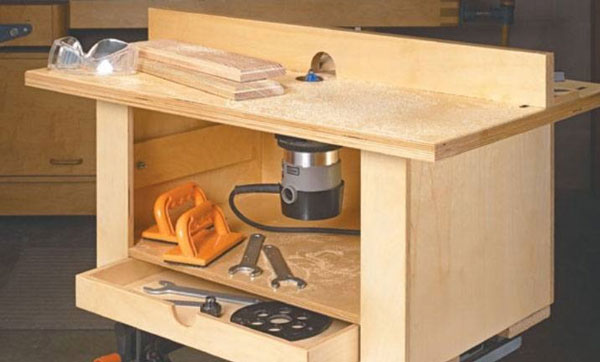 Diy Router Table Plans
