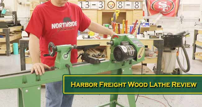 Harbor Freight Wood Lathe Review