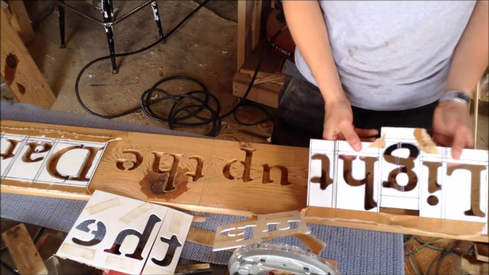 How to Make Wood Signs with Router