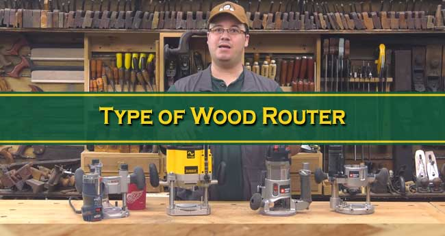 Type of Wood Router