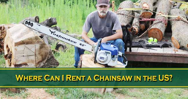 Where Can I Rent a Chainsaw in the US