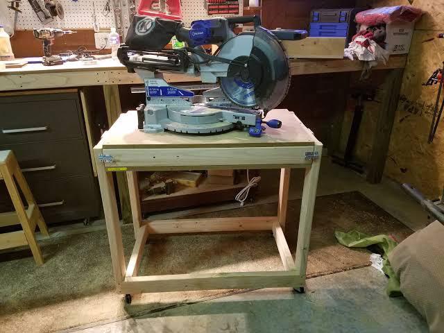 Mobile-Flip-top-Workbench