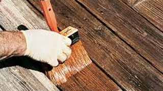 How to Stain an Old Weathered Deck