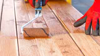 Lacquer Wood Stain