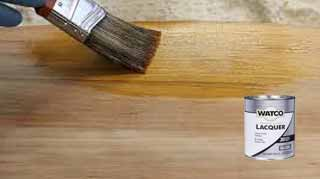 Thinning Stains with Lacquer