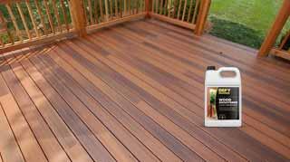 Wood Deck Brightener