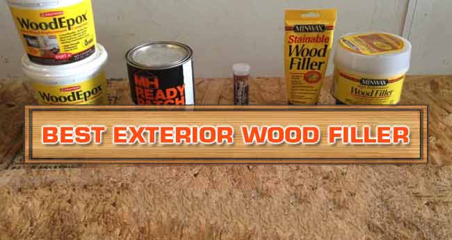 best wood filler for exterior