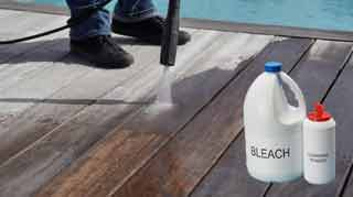 Don't Use Bleach on Your Deck