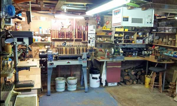 How to cleaning Woodworking Workshop