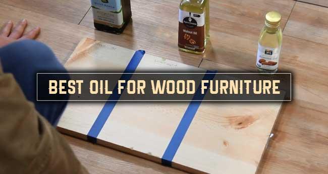 best wood furniture oil