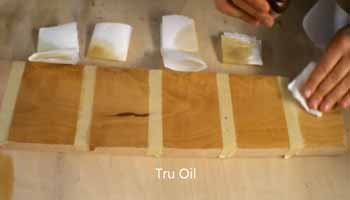 Types of Wood Oil