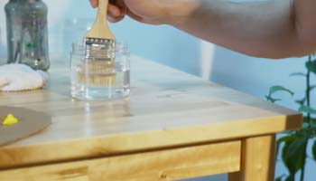 how to clean polyurethane from brush