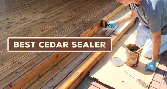 Best Cedar Sealer