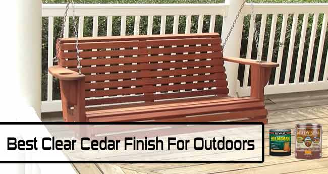 Best Clear Cedar Finish For Outdoors, Best Stain And Sealer For Outdoor Wood Furniture