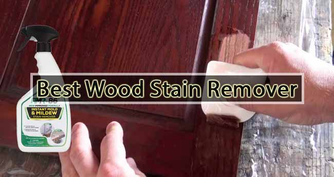 Best Wood Stain Remover
