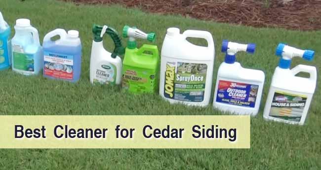 Best Cleaner for Cedar Siding
