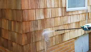 Can You Pressure wash Cedar Siding