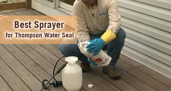 Best Sprayer for Thompson Water Seal