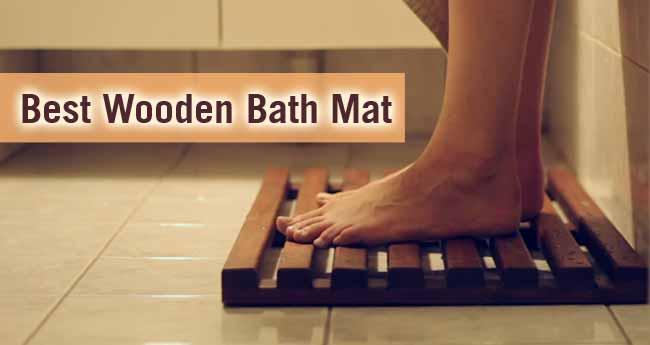 Best Wooden Bath Mat