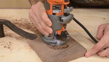 Are Routers Usable for Drilling Holes