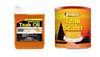 Teak Oil Vs. Teak Sealer