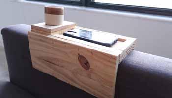 A Wooden Sofa Sleeve
