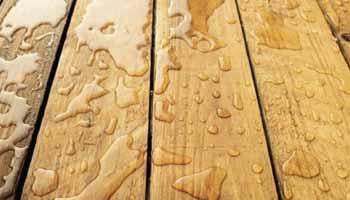Waterproofing Of Outdoor Wooden Objects
