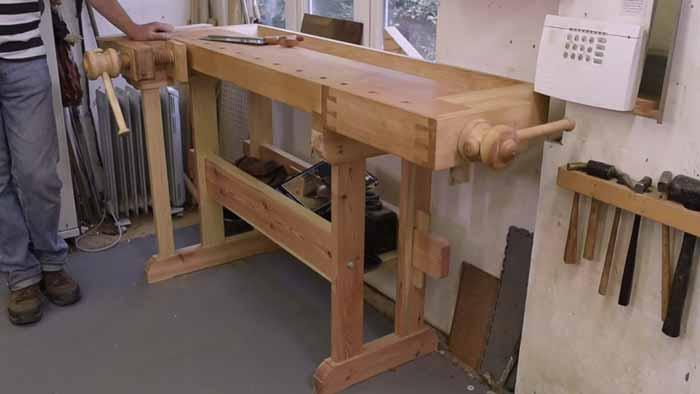 European-Style Cabinetmaker's Workbench